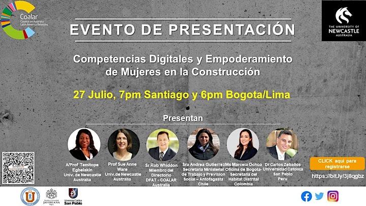 Women in Construction LAUNCH EVENT/Mujeres en la Construcción PRESENTACION image