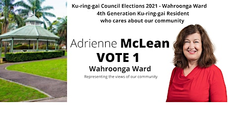 Community chat with Adrienne McLean,  Wahroonga Ward 2021 Kuringgai tickets