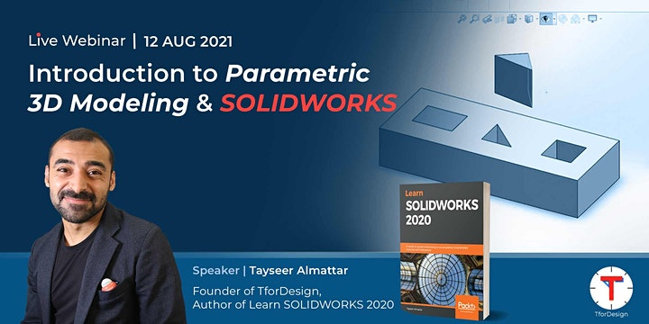 Introduction to Parametric 3D Modeling and SOLIDWORKS image