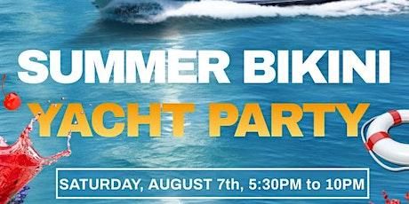 Summer Bikini Yacht Party tickets