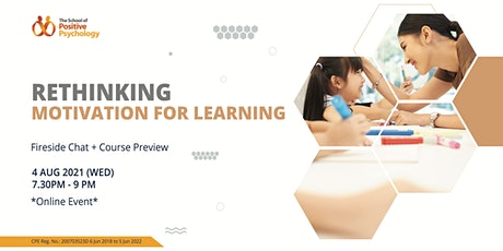 Rethinking Motivation for Learning: Fireside Chat + Course Preview tickets