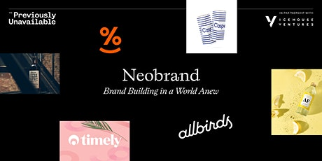 Neobrand : Brand Building in a World Anew tickets
