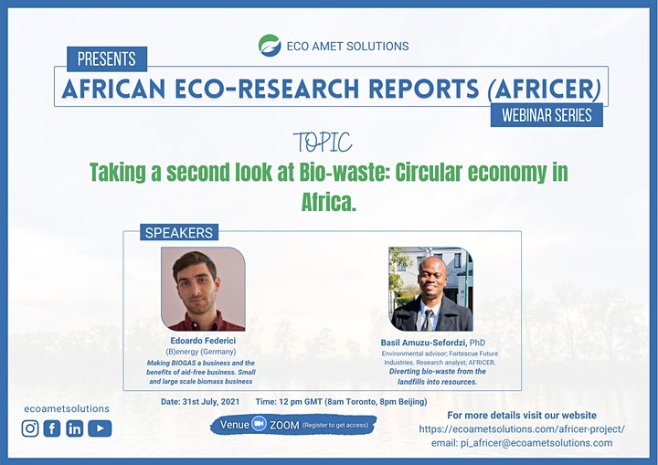 Taking a second look at Bio-waste: Circular Economy in Africa. image