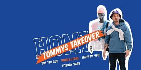 HoMie X Tommy Little: Tommy's Takeover tickets