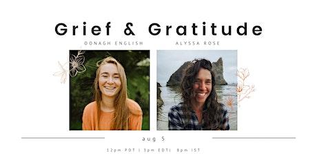 On Grief & Gratitude tickets