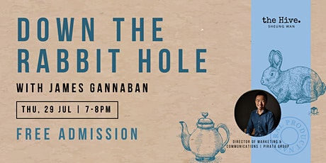 Down the Rabbit Hole with James Gannaban tickets