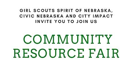 Community Resource Fair tickets