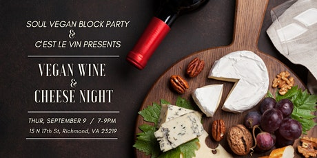 Vegan Wine and Cheese Night with C'est Le Vin tickets