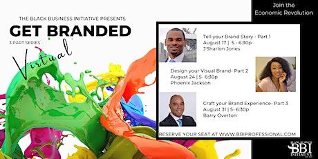Get Branded - 3 part branding series tickets