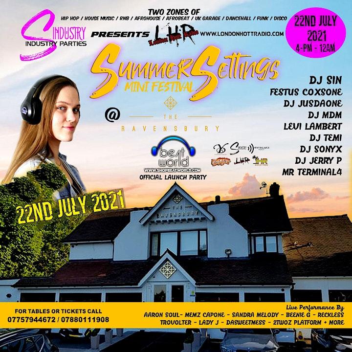 Summer Settings Mini Festival July 2021 image