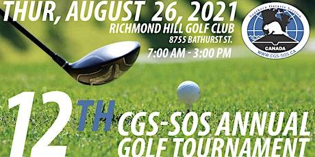 12th CGS-SOS Annual  Golf Tournament tickets