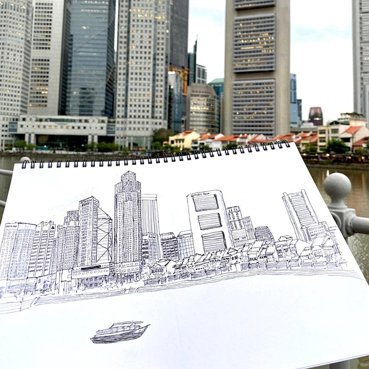 Introduction to Urban Sketching for Creative Journaling Workshop image