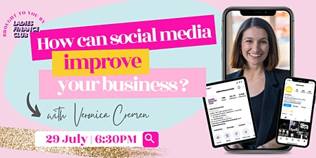 How can social media improve your business? tickets