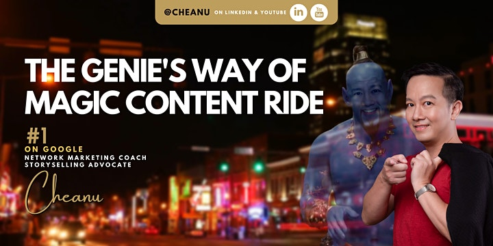 The Genie's Way of Magic Content Ride (Sept) image