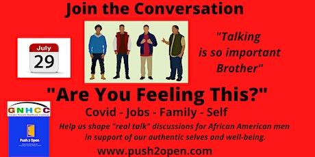 Black Men Lets Talk about it! tickets
