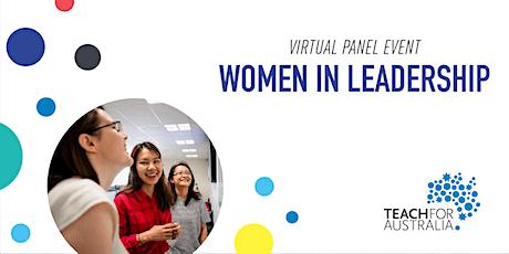 Women in Leadership Panel tickets