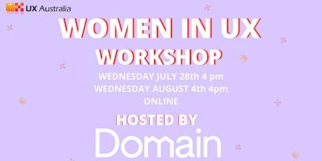 Women in UX July Workshop tickets
