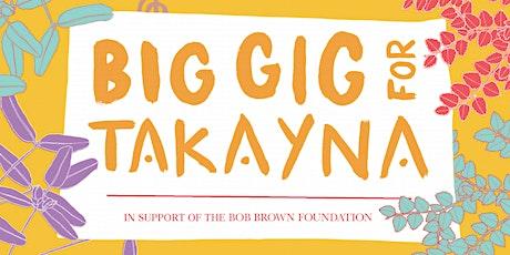 Big Gig for takayna - Hobart Sunday Sesh tickets