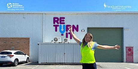 Returnit + Paraquad Tour tickets