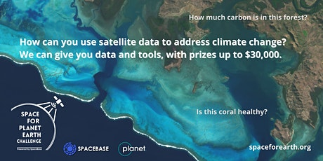 Space for Planet Earth  -  Leveraging Space Tech for Climate Change tickets