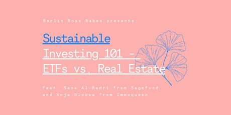 Sustainable Investing 101:  ETFs vs. Real Estate Tickets