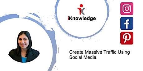 Create Massive Traffic Using Social Media tickets