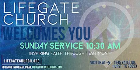 10:30am Sunday Church Service tickets