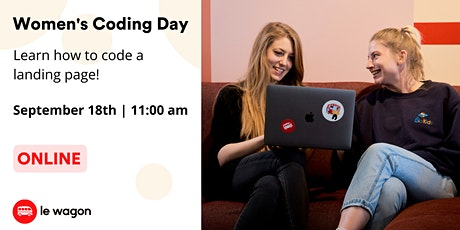 Women's Coding Day - Learn to code for free in September! tickets