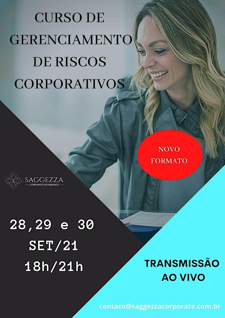 Imagem do evento CURSO DE GERENCIAMENTO DE RISCOS CORPORATIVOS