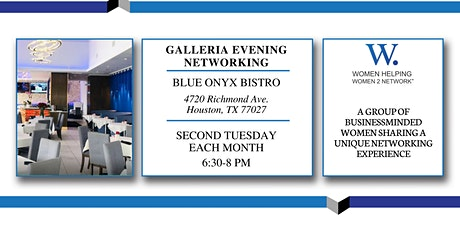 WHW2N Galleria Evening Networking tickets