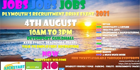 Plymouth Recruitment Drive Event 4.8.21 tickets