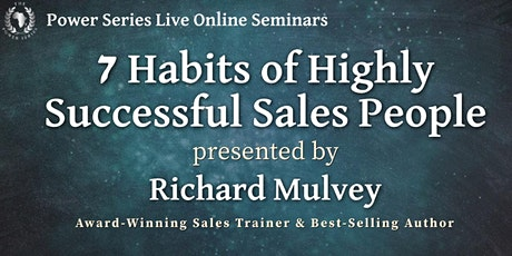 Seven Habits of Highly Successful Sales People tickets