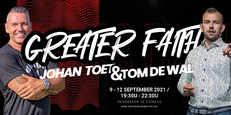 Greater Faith Conference 2021 tickets