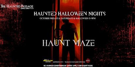 The Haunted Passage - Haunt Maze tickets