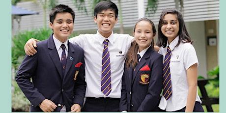 新加坡 ACS International 英華中學網上入學座談會 tickets