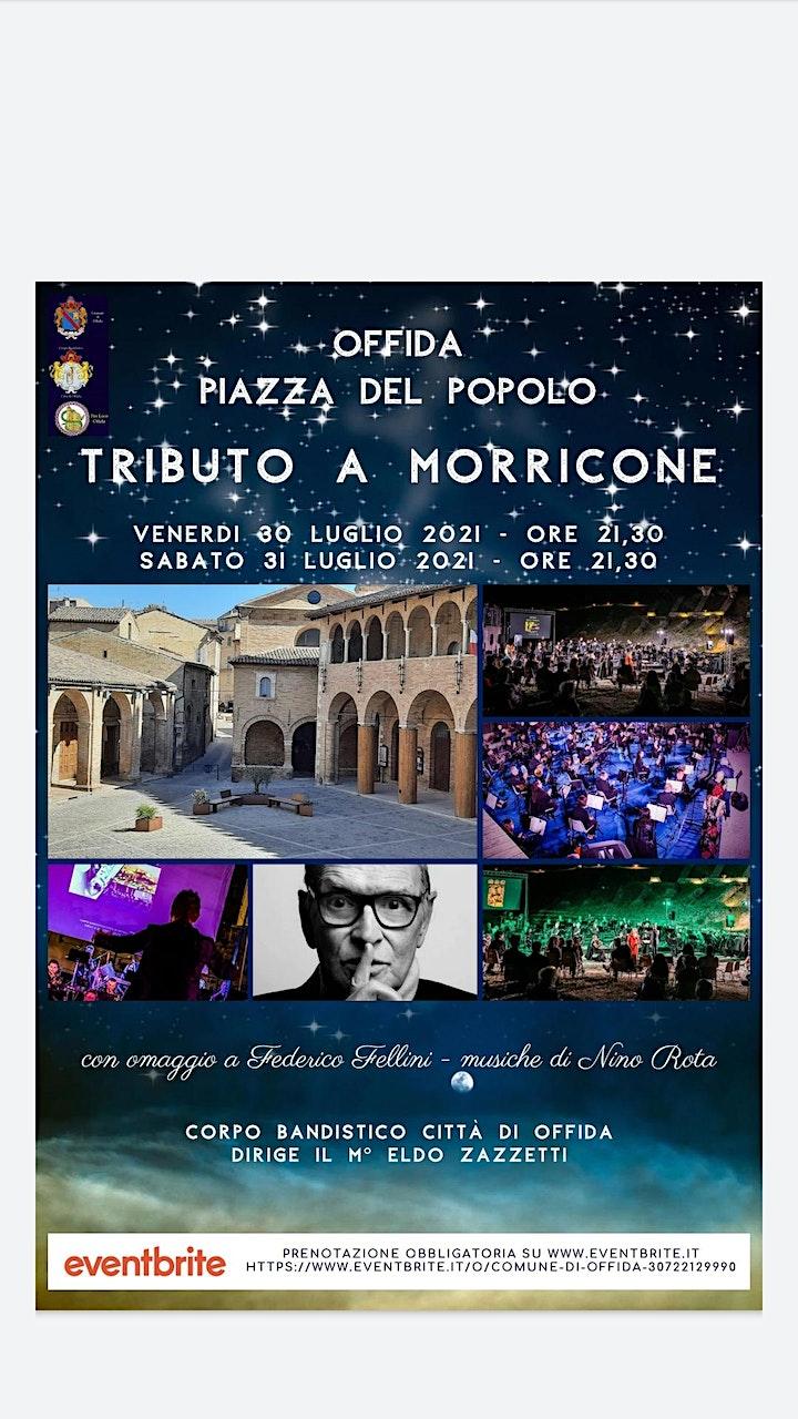 Immagine TRIBUTO A MORRICONE - Venerdi' 30 luglio - ore 21.30 - Piazza del Popolo