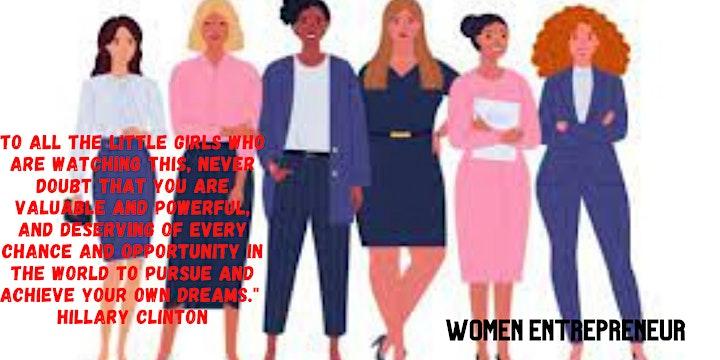 Women Empowerment  Online Webinar image