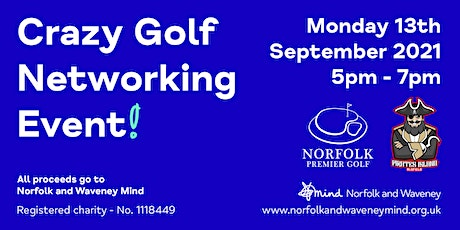 Crazy Golf Networking Event tickets