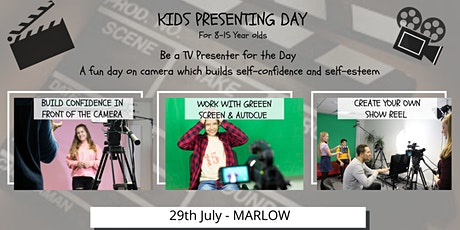 Kids TV Presenting Day 8-15 Years tickets