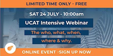 UCAT Intensive (2.5 hour workshop) tickets