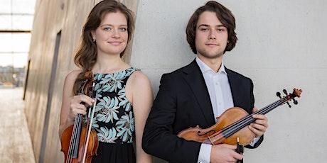 Top-concert door Muziektalent Duo Brackman-LeCoultre, viool en altviool tickets