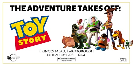 Anywhere Film @ Princes Mead | Toy Story tickets