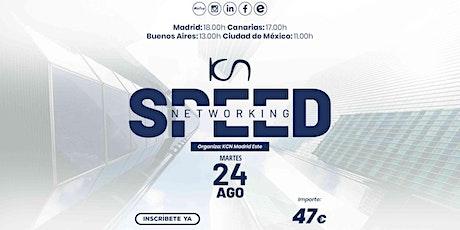 KCN Madrid Este Speed Networking Online 24 Ago entradas
