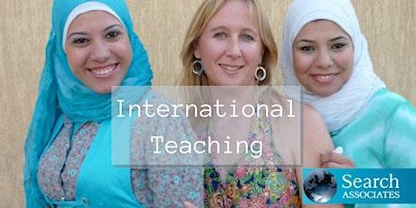 International School Teaching for 2022 and beyond: Brisbane tickets