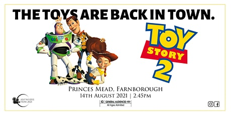 Anywhere Film @ Princes Mead | Toy Story 2 tickets