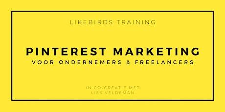 Pinterest Marketing voor ondernemers & freelancers | Basic Training tickets