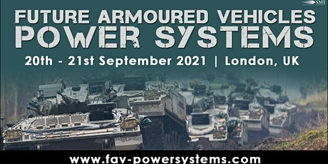 Future Armoured Vehicles Power Systems tickets