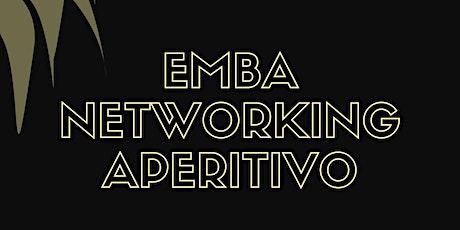 EMBA Networking Aperitivo biglietti