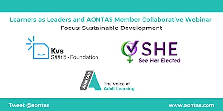 Learners as Leaders and AONTAS Member Collaborative Webinar – Sustainable D tickets