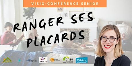 Visio-conférence senior GRATUITE - Ranger ses placards billets
